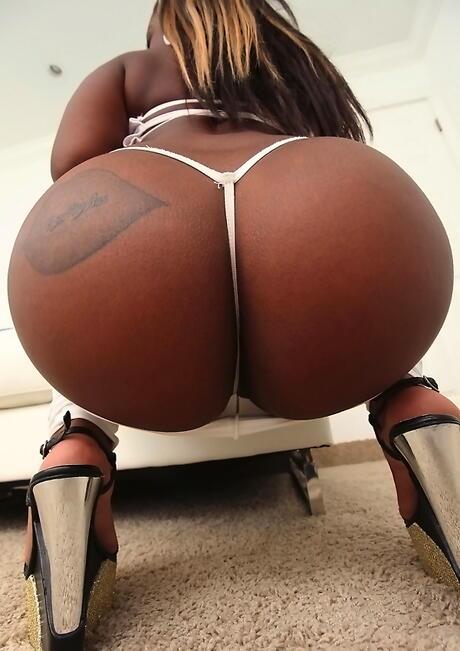 Ebony Round Ass Pics